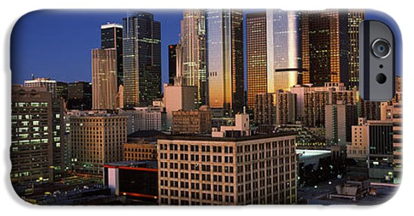 Finance iPhone Cases - Los Angeles Ca Usa iPhone Case by Panoramic Images