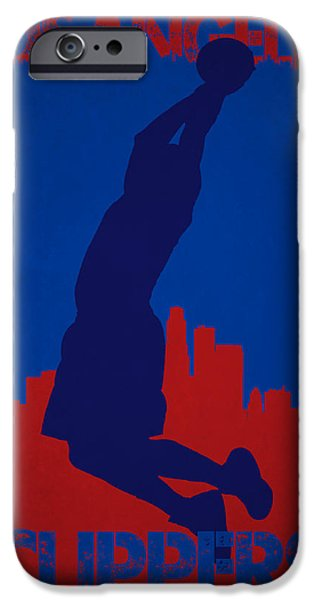 Griffin iPhone Cases - Los Angeles Clippers Blake Griffin iPhone Case by Joe Hamilton