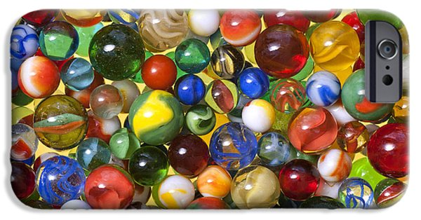 Marble iPhone Cases - Lose Your Marbles iPhone Case by Carole Gordon