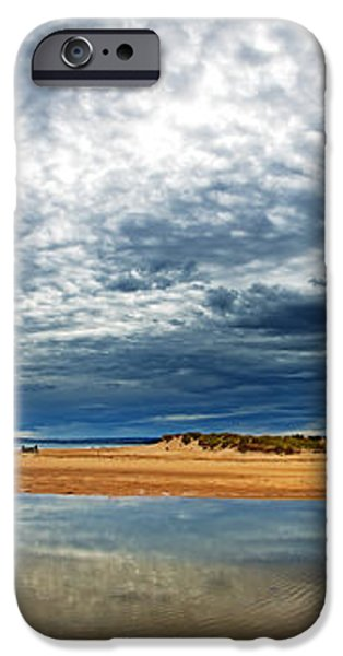 Lossiemouth pano iPhone Case by Jane Rix