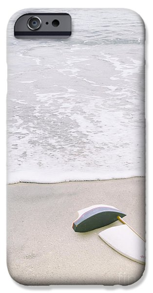 Toy Boat iPhone Cases - Lost at Sea I iPhone Case by Margie Hurwich