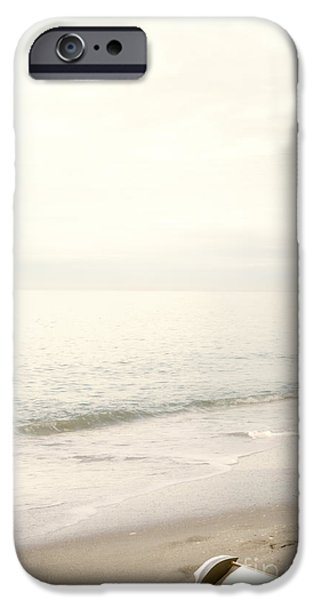 Toy Boat iPhone Cases - Lost at Sea II iPhone Case by Margie Hurwich