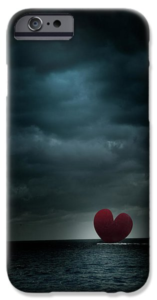 Sea iPhone Cases - Lost At Sea iPhone Case by Shane Holsclaw