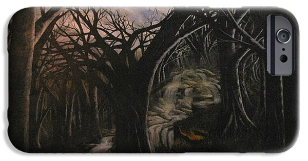 Erik Coryell iPhone Cases - Lost in a dream iPhone Case by Erik Coryell