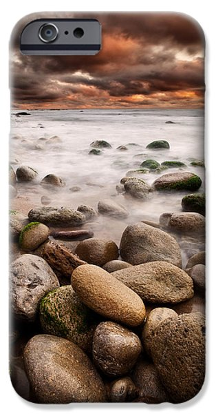 Waterscape iPhone Cases - Lost in a moment iPhone Case by Jorge Maia