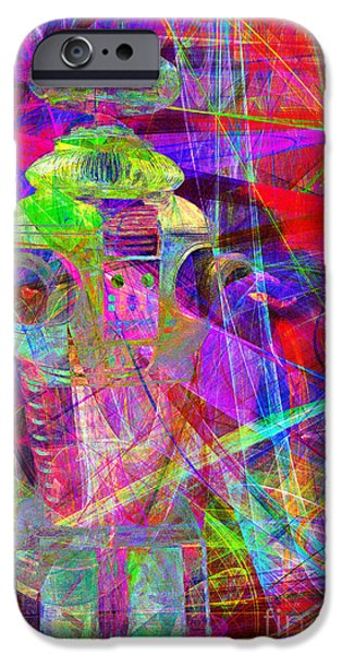 Hi-tech iPhone Cases - Lost In Abstract Space 20130611 iPhone Case by Wingsdomain Art and Photography