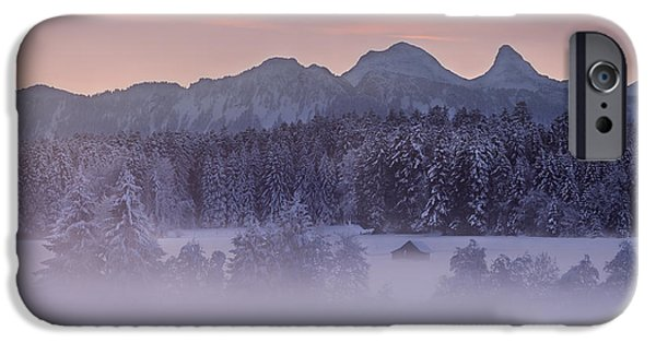 Recently Sold -  - Fog Mist iPhone Cases - Lost in the Mist iPhone Case by Dominique Dubied