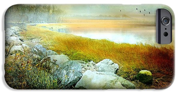 Connecticut Landscapes iPhone Cases - Lost In Your Love iPhone Case by Diana Angstadt