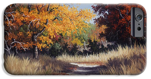 Kyle Wood iPhone Cases - Lost Maples Trail iPhone Case by Kyle Wood