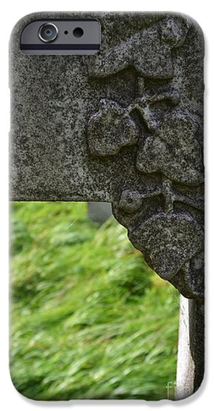 Cemetary iPhone Cases - Lost Soul iPhone Case by Stephanie Guinn