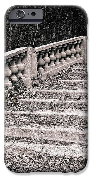 Lost Staircase iPhone Case by Olivier Le Queinec