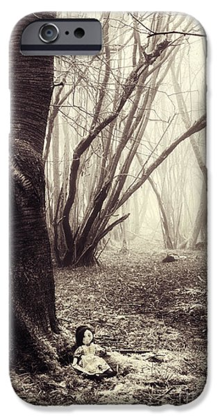 Child iPhone Cases - Lost iPhone Case by Tim Gainey
