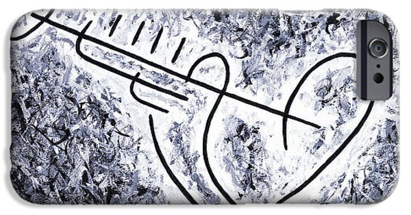 Trumpet Paintings iPhone Cases - Louis Armstrong iPhone Case by Kamil Swiatek