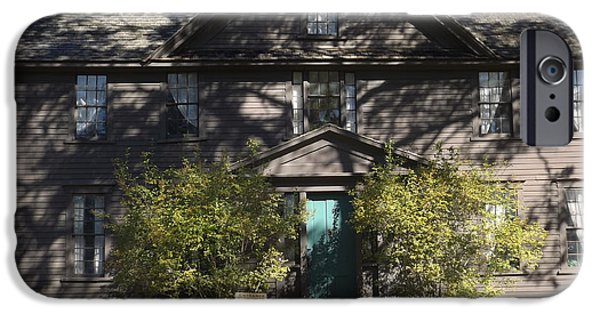 Louisa May Alcott iPhone Cases - Louisa May Alcott Orchard House in Concord Massachusetts 3 iPhone Case by James Turnbull