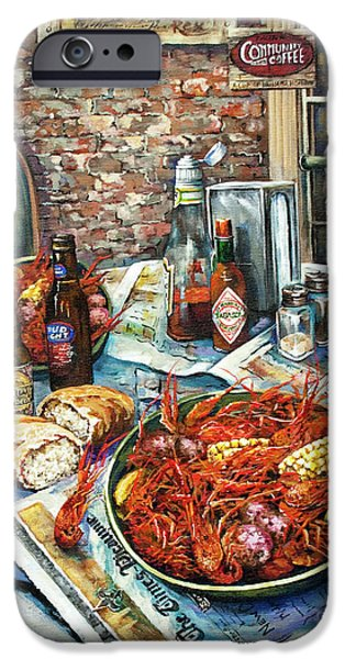 Life iPhone Cases - Louisiana Saturday Night iPhone Case by Dianne Parks