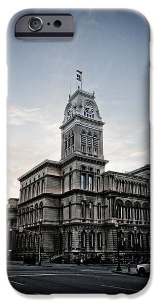 Louisville iPhone Cases - Louisville City Hall iPhone Case by Shane Holsclaw