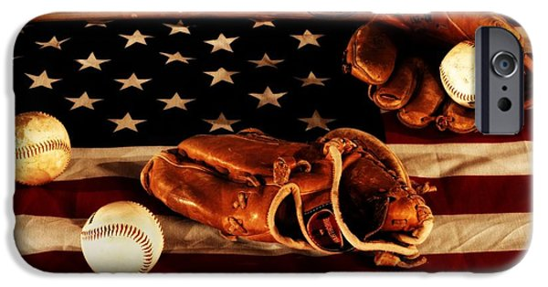 Pitcher iPhone Cases - Louisville Slugger iPhone Case by Dan Sproul