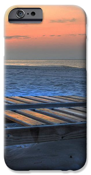 Lounge Closeup on Beach ... iPhone Case by Michael Thomas