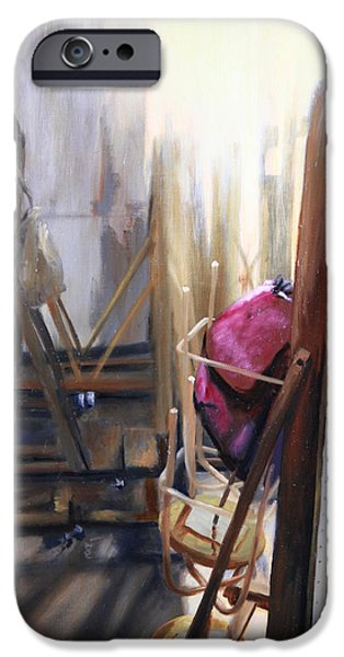 Gallery Sati iPhone Cases - Louvre Closet iPhone Case by Shelley  Irish