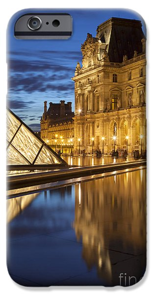 Louvre Reflections iPhone Case by Brian Jannsen