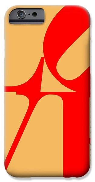 LOVE 20130707 Red Orange iPhone Case by Wingsdomain Art and Photography