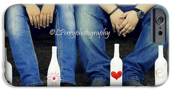 Wine Legs iPhone Cases - Love and Denim iPhone Case by Laurie Perry