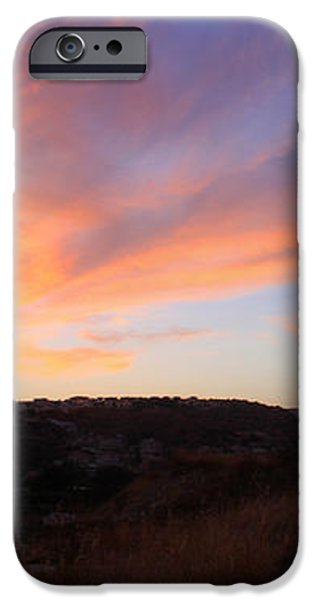 Love and Sunset iPhone Case by Augusta Stylianou