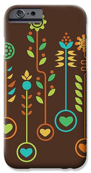 Love Garden iPhone Case by Budi Satria Kwan