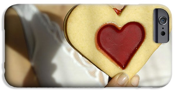 Saint Hope iPhone Cases - Love Heart Valentine iPhone Case by Matthias Hauser