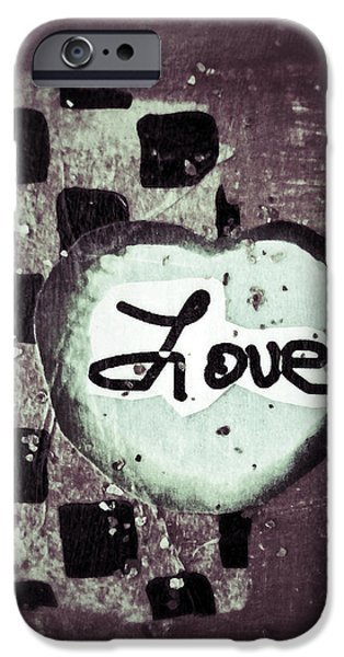 Love Is All You Need iPhone Case by Patricia Januszkiewicz