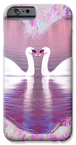 Love is Everywhere iPhone Case by Bill Cannon