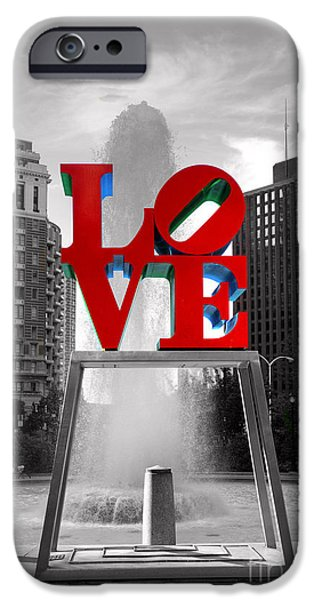 Statue iPhone Cases - Love isnt always black and white iPhone Case by Paul Ward