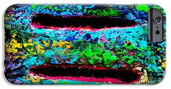 Spectrum Mixed Media iPhone Cases - Love Knows No Bounds iPhone Case by D Renee Wilson