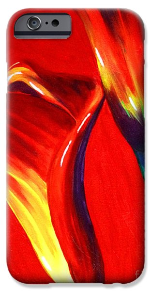 Women Together iPhone Cases - Love Lilies iPhone Case by Jackie Carpenter