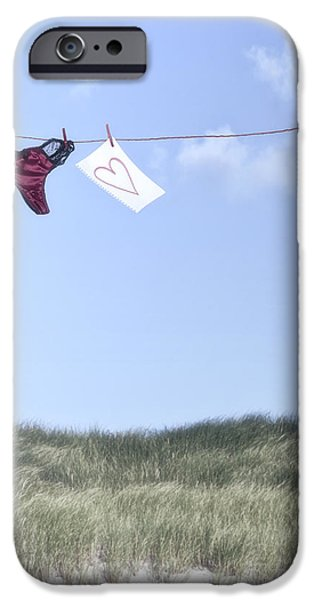 love message from cloud 9 iPhone Case by Joana Kruse