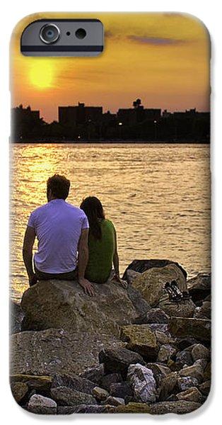 Love On The Rocks In Brooklyn iPhone Case by Madeline Ellis