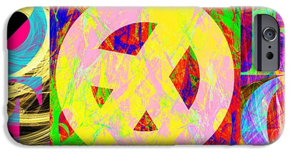 Child iPhone Cases - Love Peace and Rock and Roll Return To The Summer of Love 20140605 iPhone Case by Wingsdomain Art and Photography