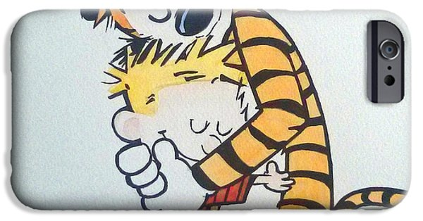 Exploring Paintings iPhone Cases - Love iPhone Case by Sai P