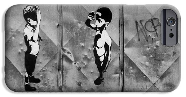 Freedom iPhone Cases - Love salute.. iPhone Case by A Rey