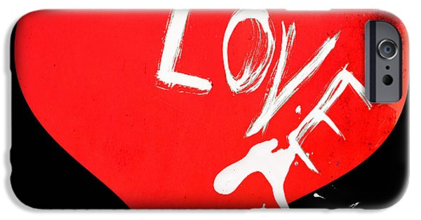 Surtex Licensing iPhone Cases - Love Splashes iPhone Case by Anahi DeCanio