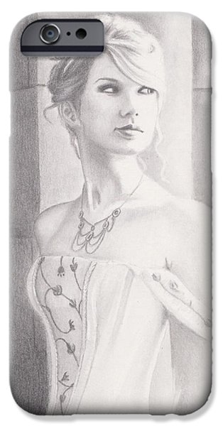 Taylor Swift iPhone Cases - Love Story iPhone Case by Kendra Tharaldsen-Franklin