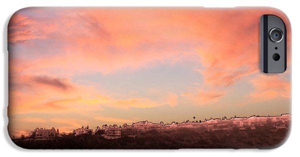 Amazing Sunset iPhone Cases - Love Sunset iPhone Case by Augusta Stylianou