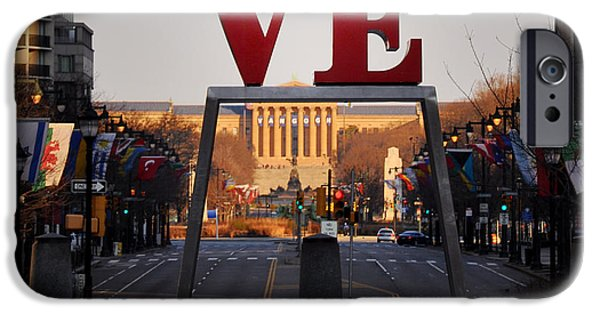 Franklin iPhone Cases - Love the Parkway iPhone Case by Bill Cannon