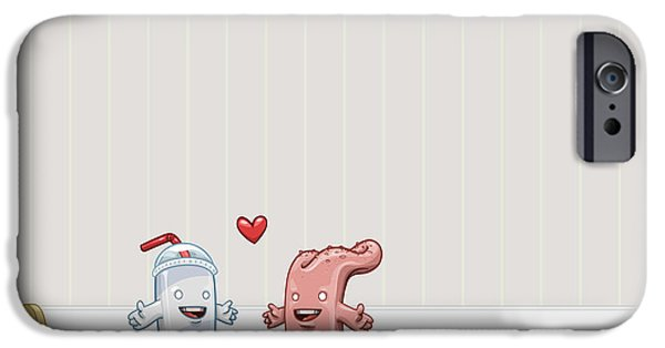 Animation iPhone Cases - Love Thy Cocktail iPhone Case by Gianfranco Weiss
