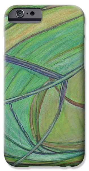 Loveliness arises iPhone Case by Kelly K H B