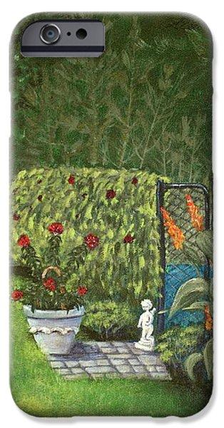 Lovely Green iPhone Case by Anastasiya Malakhova