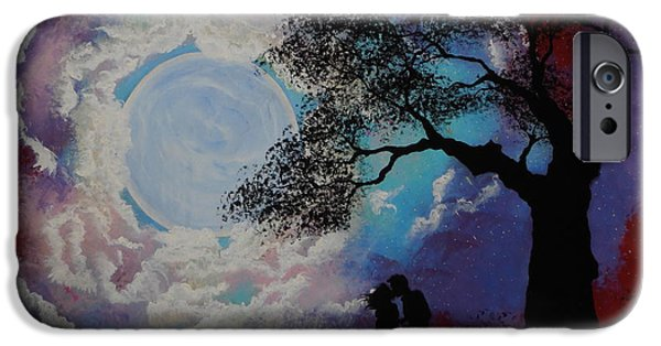 Moonscape iPhone Cases - Loveswept iPhone Case by Cynthia Ring