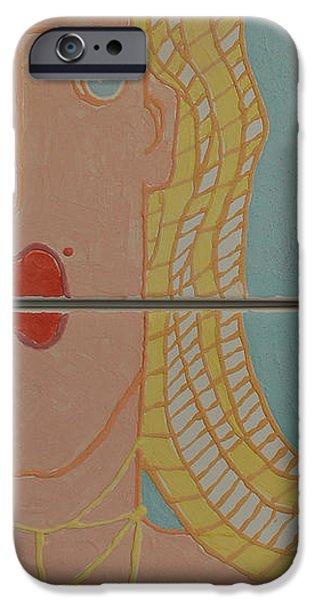 Beach Ceramics iPhone Cases - Loving The Beach  iPhone Case by Art Mantia
