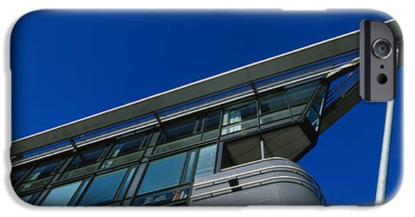 Norway iPhone Cases - Low Angle View Of A Building, Aker iPhone Case by Panoramic Images
