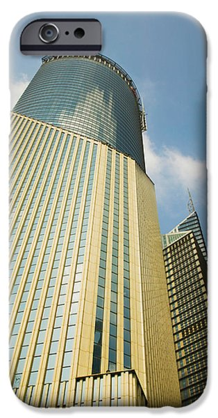 Finance iPhone Cases - Low Angle View Of A Building, Bank iPhone Case by Panoramic Images